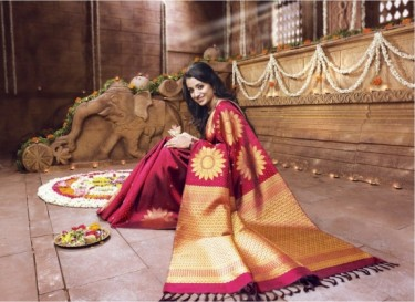 A Weeding Saree