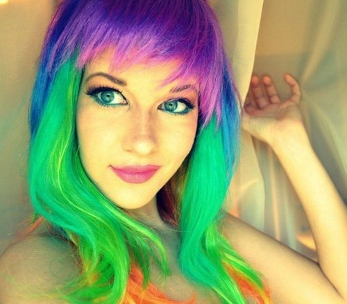 10 Vibrant Hair Colors To Go With Summer Holiday Hairstyle
