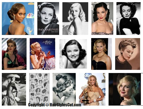 1940s hairstyles Pictures. Although it may take a little bit of practice,