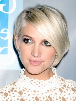Ashlee simpson 12 celebrities with short hair hairstylescut graduated crop of ashlee simpson urmus Gallery