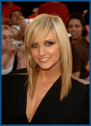 long hairstyles with side fringe. Side swept angs