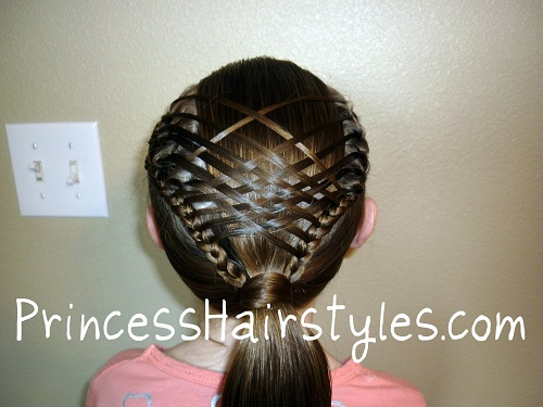 How To Make A Basket Weave Hairstyle : Steps to create basket weave braid style hairstylescut