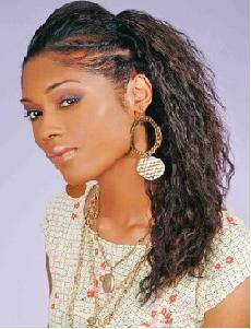 Enjoyable Afro Long Hair With Twist Amp Waves Pictures Of Afro Black Short Hairstyles Gunalazisus