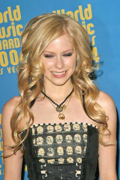 Avril Lavigne Hair Style