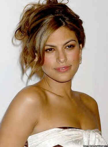 Eva Mendes 2010 Celebrity Hairstyles for Black Women