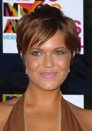 Mandy Moore's Short Crop Haircut, Mandy Moore Long layered Hairstyle