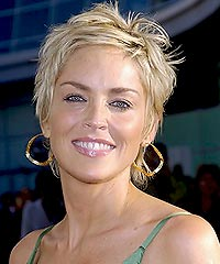 sharon stone's haircuts