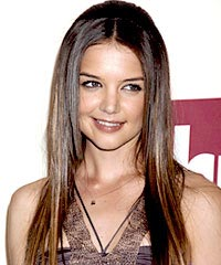 Katie Holmes  Color on My Hair Is Naturally Brown And I Also Have Blue Eyes And Freckles