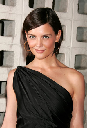 Katie Holmes Short Haircut, Victoria Beckham Short Bob Picture