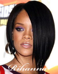 Rihanna  Bobs - Popular Fall Hair Style
