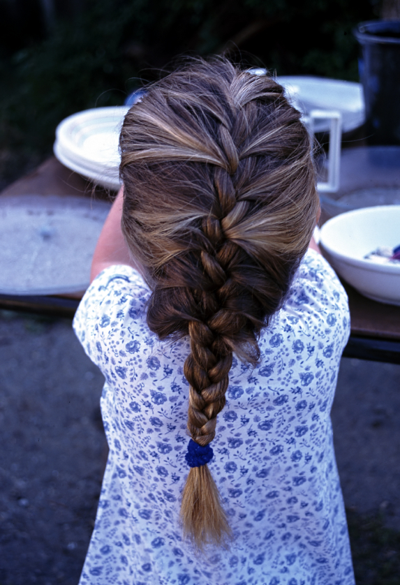 How To French Braid Step By Step Pictures. French Braid Girl