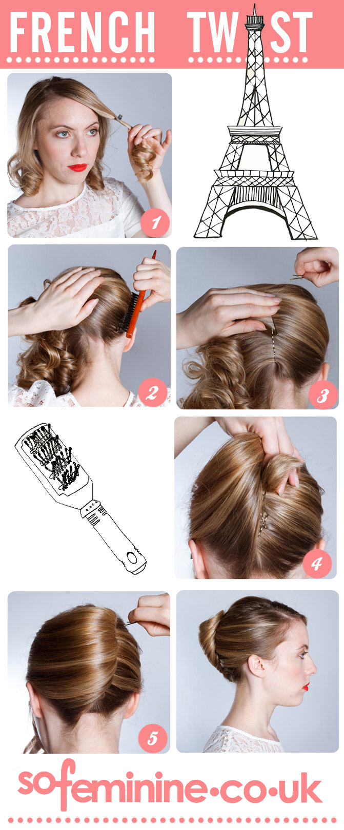 How to Create French Pleat Style in Minutes  Hairstylescut