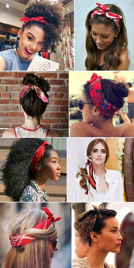 beautiful bandana hairstyles for teen girls. Black Bedroom Furniture Sets. Home Design Ideas