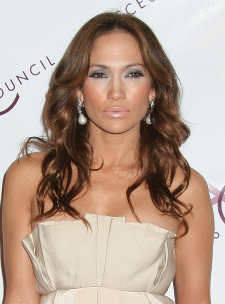 Jennifer Lopez Party ready long hairstyle