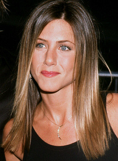 jennifer aniston hairstyle. jennifer aniston hair color