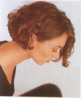 Curly Blunt Cut Medium Length Hair Pictures Of Medium