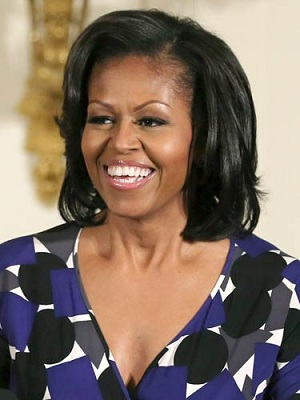As First Lady Michelle Obama