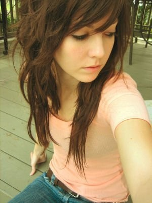 Asian Medium Curly Hairstyles for Womens Emo Punk Hairstyle for People with