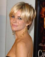 Short Blonde Hairstyle For Older Women