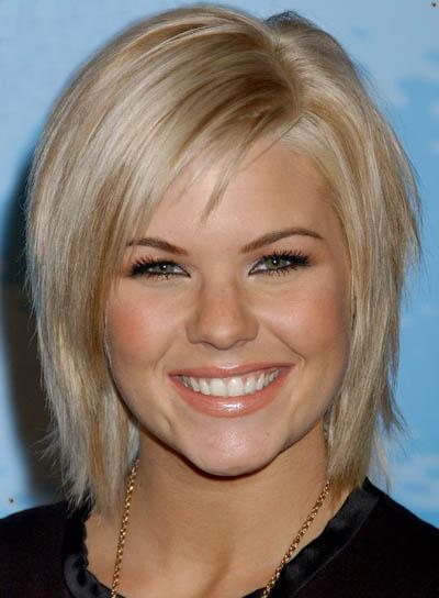Hairstyles Short Hair on Kimberly Caldwell Razored Bob Short Hairstyle