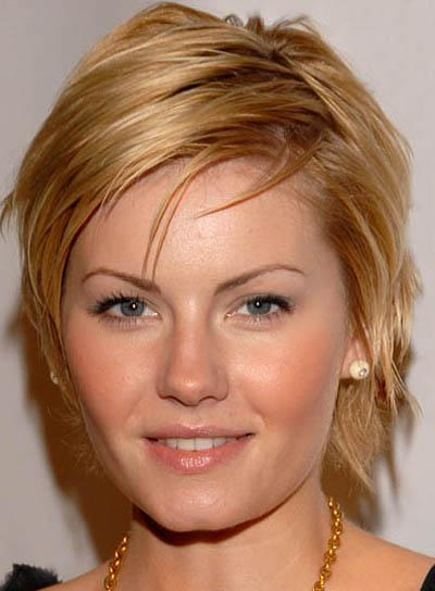 Short Pixie Round face Haircut