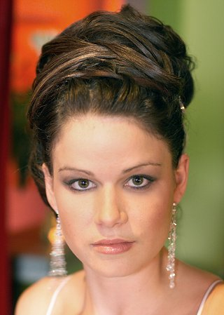 Previous Wedding Hairstyle Picture #8 Next. Elegant Bridal Updo
