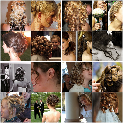 Wedding Updos for Short Hair.