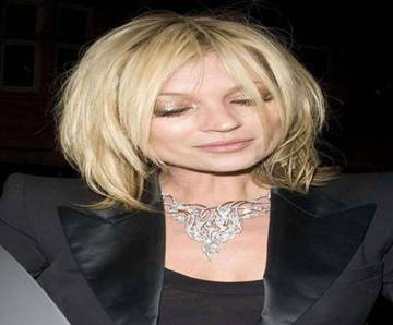 Medium Shag Layered Hairstyle By Kate Moss Hairstylescut Com