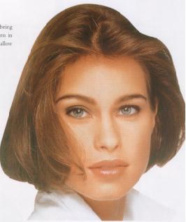 Fine Mid Length Blunt Cut Hair Pictures Of Medium