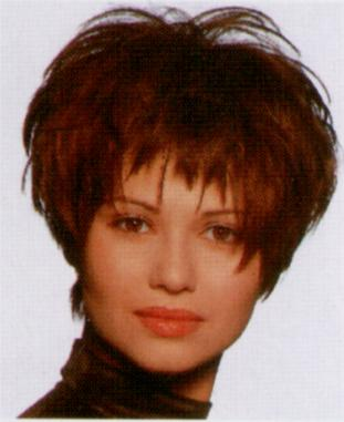 Short Layered Root Perm Lift Hairstylescut