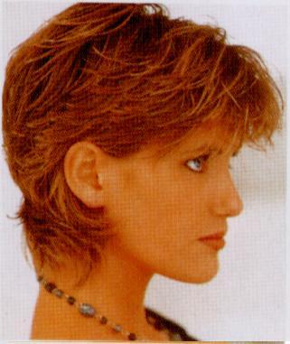 thick feathercut short layers  hairstylescut